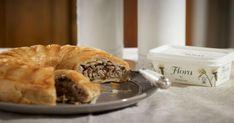 Home - Upfield Spanakopita, Pie Dish, Soul Food, Starters, Bagel, Apple Pie, Cheesecake, Appetizers, Bread