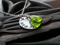 Mo Anam Cara Irish My Soul Mate Sterling Silver Necklace, Hand Stamped. $30.00, via Etsy.