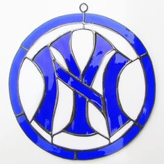 New York #Yankees Real Stained Glass #Baseball #MLB Team Gift Toy Souvenir Sgt37 from $34.0