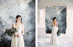 Quietly Beautiful Modern Wedding Inspiration by Elizabeth LaDuca Photography | Wedding Sparrow | fine art wedding blog