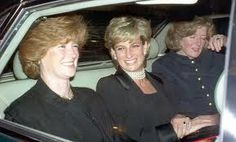 Princess Diana with her sisters Lady Jane Fellowes and Lady Sarah McCorquodale