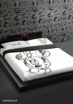Disney Minnie Completo Copripiumino Letto Matrimoniale, Biancheria per il Letto Disney Adulto - TocTocShop.com - #Mirabello Carrara