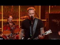 "The Late Late Show - Metallica Performs ""Fuel"" Nov 18, 2014"