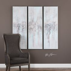 Add a peaceful touch to your decor with this enchanting artwork. Impressions Abstract Hand Painted Artwork - Set of 3 #abstractart #handpaintedart #abstractartwork #handpaintedartwork #homedecor #interiordecor #innovationsdesignerhomedecor #homedecorlove #homedecorshopping #interiordesigninspiration  $424.60  ➤ https://www.innovationsdesignerhomedecor.com/products/impressions-abstract-handpainted-artwork?utm_campaign=outfy_sm_1499314038_890&utm_medium=socialmedia_post&utm_source=pinterest