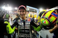 Race day in Qatar, first race of 2013 Rossi Yamaha, Valentino Rossi 46, Vr46, T Mo, 1957 Chevrolet, Race Day, Motogp, Racing, Happy