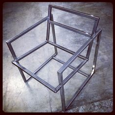 Tack #Welded #Mockup of the #Chair I'm #Fabricating …. I told you it was a chair… The #Future is now!… #Design #Welding #Woodwork #Fabrication #BoundaryCustoms #asseenincolumbus #614 #makersmovement #smallbusiness #shopowner #handmade #integrity...