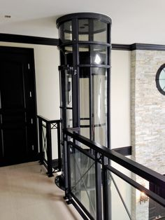 The Pneumatic Vacuum Elevator requires no pit excavation, hoist way, or machine room needed Quonset Homes, House Lift, Elevator Design, Stair Lift, Tiny House Stairs, Glass Elevator, House Elevation, Home Gadgets, Home Renovation