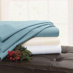 Warm Cotton Sheets