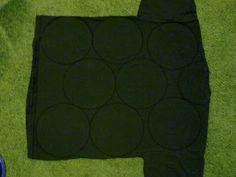 amelia.mary: I made a ruffled T-Shirt Scarf