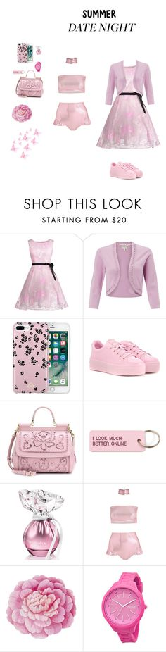 """""""Summer date night"""" by unicorn36 ❤ liked on Polyvore featuring Monsoon, Vera Bradley, Kenzo, Dolce&Gabbana, Various Projects, Ballard Designs and Rip Curl"""
