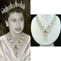 Royal Crown Jewels, Royal Crowns, Royal Jewelry, Tiaras And Crowns, Vintage Jewelry, Young Queen Elizabeth, Princess Elizabeth, Victoria Prince, Queen Victoria