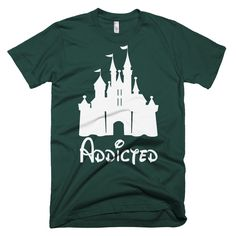 "Womens Disney ""Addicted"" T-Shirt"