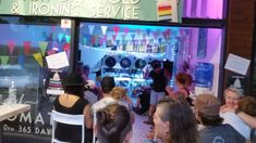 The Ironing Maidens held a concert at our Gold Coast laundromat in January Our laundromat has never looked this good! Acoustics and lighting were great and it was a wonderful party atmosphere! Coin Change Machine, Free Park, January 2018, Card Reader, Gold Coast, Lighting, Night, Concert, Check