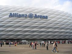 Stadionfassade     #Europe's football clubs