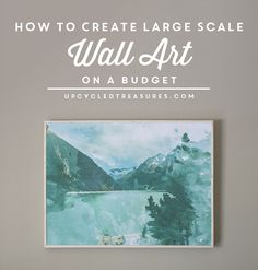 how-to-create-diy-wall-decoor-on-a-budget-upcycledtreasures