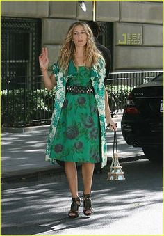 Carrie Bradshaw SATC 2 - everything I am about, if only I had the budget to look so fabulous!