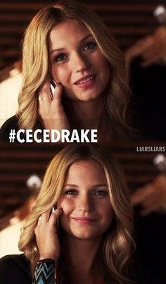 CECE DRAKE IS A did not expect this to happen...I love that they made Cece A!!