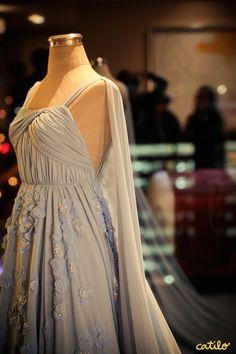 One of Kathryn Bernardo's gown on her debut. Debut Gowns, Debut Dresses, Kathryn Bernardo Debut, Plus Size Cocktail Dresses, Celebrity Dresses, Fashion Company, Beautiful Dresses, One Shoulder Wedding Dress, Wedding Dresses