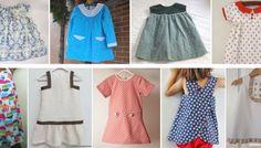 Ranking de los mejores tutoriales en español con patrón gratis para hacer un vestido de niña