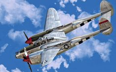 lockheed p 38 lightning backgrounds for widescreen, 1600x1000 (267 kB)
