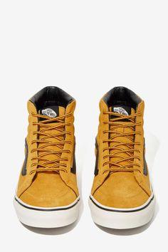 c427ef198de2 Vans Sk8-Hi Sneaker - Tan Suede - Flats
