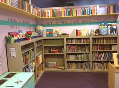 We LOVE libraries!