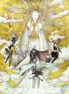 yoshitaka amano [I love this artist!!!]