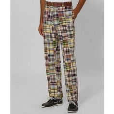 Madras pants.  My husband has a pair and they are fab.