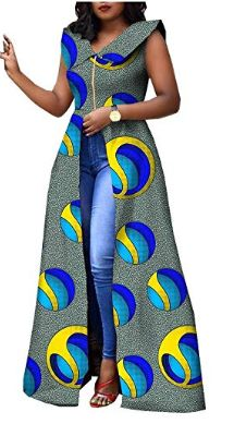 African Dresses for Women Plus Size Party wear Split Ball Gown Cocktail Ankara Clothing Clothes Long African Dresses, Latest African Fashion Dresses, African Print Dresses, African Print Fashion, Africa Fashion, Ankara Dress Styles, Ankara Dress Designs, African American Fashion, African Fashion Designers