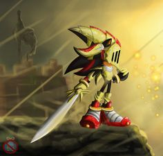 CE: Excalibur Lancelot by shadowhatesomochao on deviantART - Shadow the Hedgehog - Lancelot - Sonic and the Black Knight