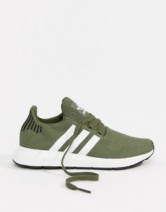 info for 34910 3a81b adidas Originals Swift Run Sneakers In Khaki