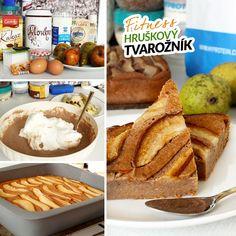 Fitness hruškový tvarožník - recept Bajola Healthy Style, Healthy Recipes, Healthy Food, Clean Eating, Food And Drink, Bread, Cooking, Desserts, Fat
