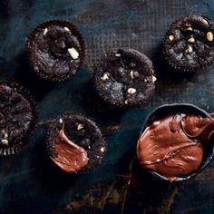 Chocolate chunk brownie cupcakes | Woolworths TASTE