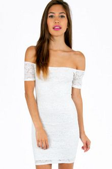 Find your next bodycon dress in lace or two-piece, black, white and more. Sexy bandage dresses for your next GNO! Costumes, Costume Ideas, Lace Dress, How To Make, How To Wear, Bodycon Dress, Ivory, Stylish, My Style