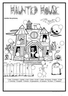 Halloween - The haunted house
