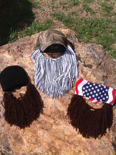 Duck Dynasty inspired bearded hats on Etsy, $25.00