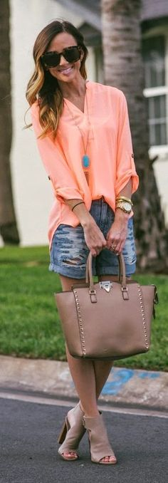 Neon Top  Summer Style by Sequins & Things
