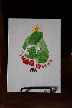 homemade Christmas gift :: perfect for baby's first Christmas