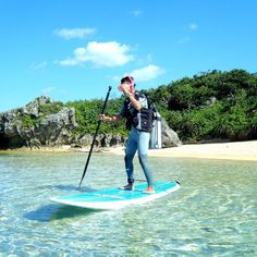 SUP DIVER 参上 I'm reday!  さぁてどこで潜ろうかな笑笑  #沖縄#sup#diver##okinawatrip#okinawa#beach #sea #パドルボード#instagood#instalike#ダイビング#funny#clearwater#恩納村#ビーチ#サップ#サップダイビング#supdiving