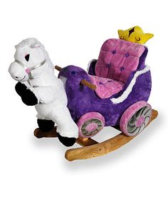 Princess rocker-Grandma is getting her this for Christmas! Love Zulily!