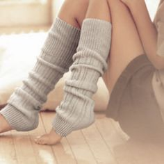 I may or may not have an overly exciting obsession with leg warmers! But my ankles and heels will NEVER tell!