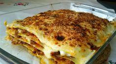 PASTA- LASAÑA DE CARNE -  Anna recetas fáciles: Lasaña de carne
