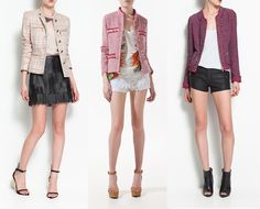 Chanel-inspired jackets