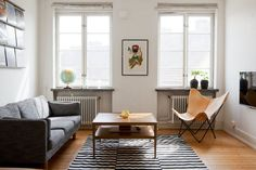 Bilder, Vardagsrum, Randigt, Matta, Fönster - Hemnet Inspiration
