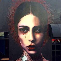 Luke Davies (aka Pencil Jedi), Streetart #Streetart #Mural #awesome #art #Davies #Pencil  #Jedi #Artist