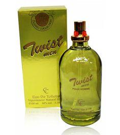 Twist Men  Gender : Men  Classic Collection  Type : Natural Spray  Size: 100ml.  Model: MP 1015
