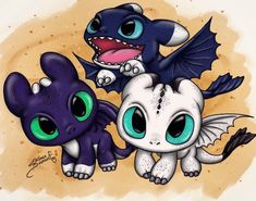 How to draw a dragon baby night fury 28 Ideas Cute Animal Drawings, Kawaii Drawings, Disney Drawings, Toothless Drawing, Toothless And Stitch, Httyd Dragons, Cute Dragons, Kawaii Dragon, How To Train Dragon