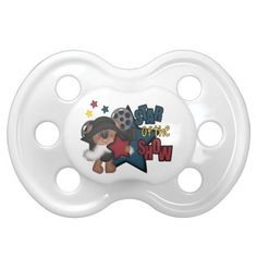 Star Of The Show Custom Pacifier