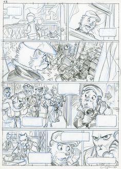 "Blacksad : ""l'Enfer, le silence"" by Juanjo Guarnido - Comic Strip"