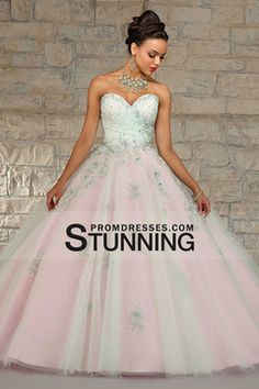 2015 Bicolor Quinceanera Dresses Sweetheart With Beads And Applique Floor Length $229.99 SPPS8MBHSM - StunningPromDresses.com
